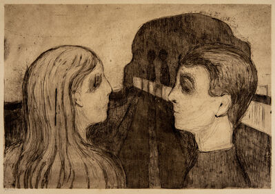 Edvard Munch, 'Attraction II', 1895