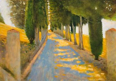 Clive McCartney, 'The Quiet Path, Tuscany', 2019