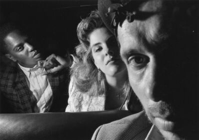 Ryan Weideman, 'Self-Portrait with Black and White Couple', 1986