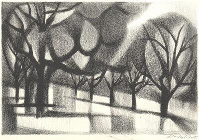Bernard Brussel-Smith, '[Collonges la Rouge Forest]', ca. 1975