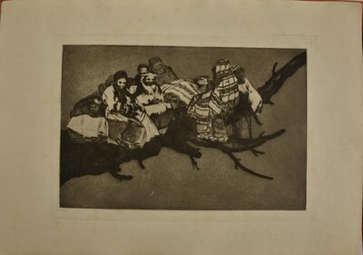Francisco de Goya, 'Complete collection of Los Proverbios', 1875