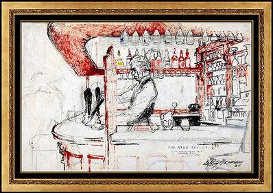 LeRoy Neiman, 'Before the Heist - The Original Star Tavern', Mid-20th Century