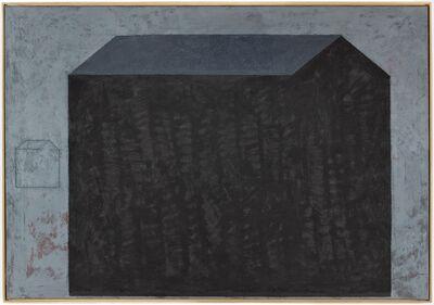 Horst Antes, 'Schwarzes Haus', 2007-2015