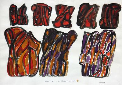 Pietro Consagra, 'Senza titolo', 1987