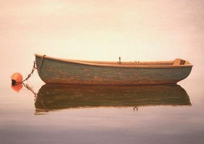 Sergio Roffo, 'Green Dory in Calmness', 2018
