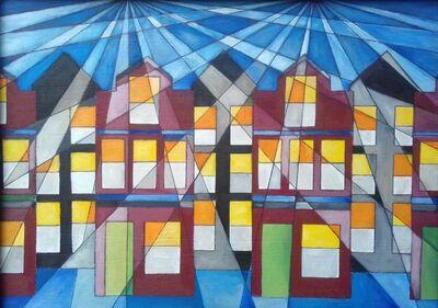 Christopher E Barrow, 'Town Houses', 2019
