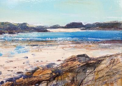 Sarah Carrington, 'Low Tide, Knockvologan, Mull', 2016