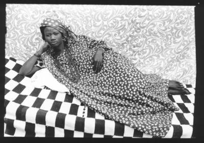 """Seydou Keïta, 'Sans titre """"L'odalisque""""', 1956-1957"""