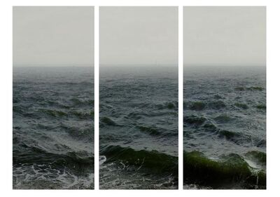 Nadav Kander, 'Water III, part 1,2 & 3, (Shoeburyness towards Isle of Grain)', 2015