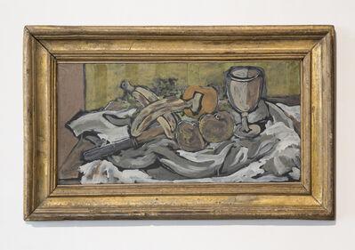 Georges Braque, 'Couteau, bananes, pommes et verre', 1924