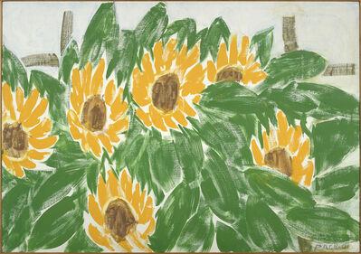 Stephen Pace, 'Six Sunflowers', 2001