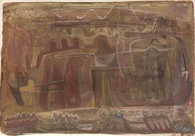Mark Tobey, 'Vita Nova', 1944