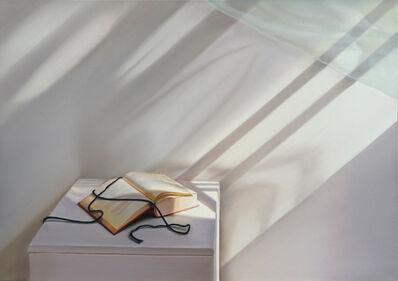 Edite Grinberga, 'Offenes Buch mit Wind', 2015
