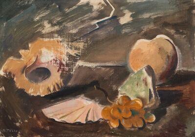 Mario Tozzi, 'Still life with shell and grapes', 1940