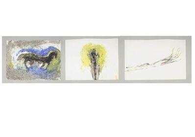 Miriam Cahn, 'luft', 18.06.1992