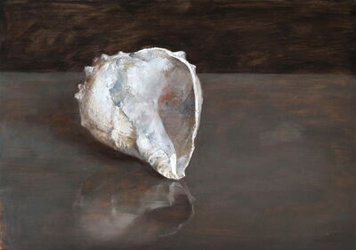 Helen Oh, 'Blue Fossil Shell', 2018
