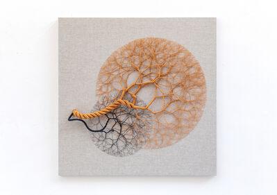 Janaina Mello Landini, 'Ciclotrama 153 (aglomeração)', 2020