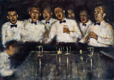 Clive McCartney, 'Singing and Drinking, The Tollygunge Club, Calcutta', 2020