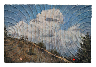Christine Frerichs, 'Pair (September clouds over Los Angeles)', 2013