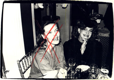 Andy Warhol, 'Andy Warhol, Photograph of Suzie Frankfurt and a Woman, 1970s', 1970s