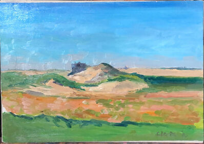 Salvatore Del Deo, 'Peaked Hill - Wells Shack', 1998
