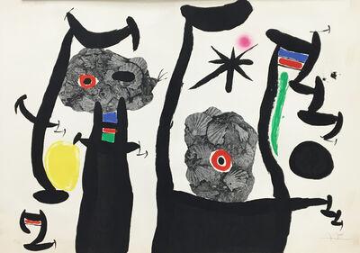 Joan Miró, 'The Sea Shells (Les Coquillages)', 1968