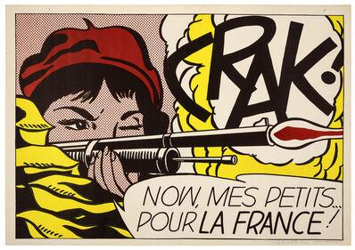 Roy Lichtenstein, 'Crak!'