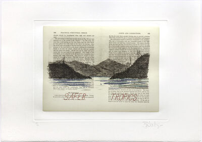 William Kentridge, 'Sleeping on Glass (Safer Tropics)', 1999