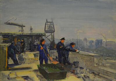 Aleksandr Nikiforovich Chervonenko, 'Workers', ca. 1950
