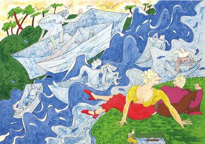 Gladys Nilsson, 'Regatta', 1999