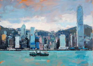 James Hart Dyke, 'Hong Kong and Star Ferry', 2014