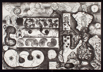 Luis Gordillo, 'Todos los hombres patata quieren a las mujeres patata No. 3 ', 1987