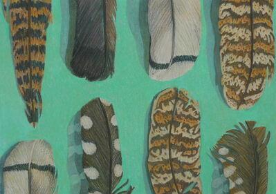 Aaron Kasmin, 'Feathers', 2015