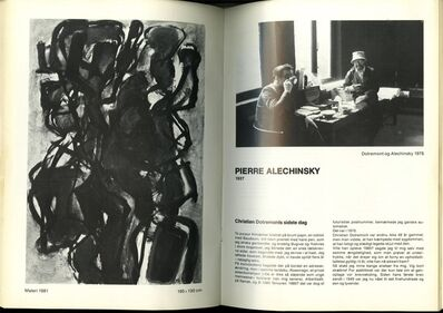 Pierre Alechinsky, 'ARIS-KOBENHAVN CoBrA Catalog, Uniquely Hand Signed by 10 Artists ', 1981
