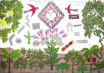 Wilson Rodríguez, 'Símbolos Ancestrales', 2020