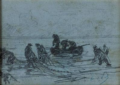 Eugène Boudin, 'La Pêche'