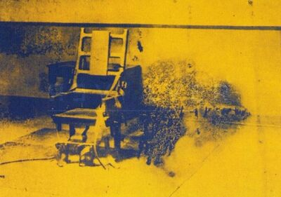 Andy Warhol, 'Electric Chair (FS II.74) ', 1971