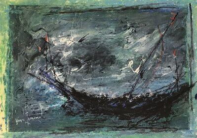 Gérard Economos, 'Boat in Storm', 2011