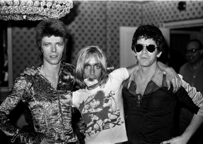 Mick Rock, 'David Bowie, Iggy Pop, Lou Reed, London's Dorchester Hotel 1972', 1972