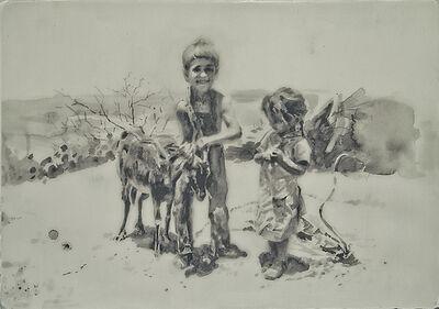 Hung Liu 刘虹, 'Companions II 2/3'