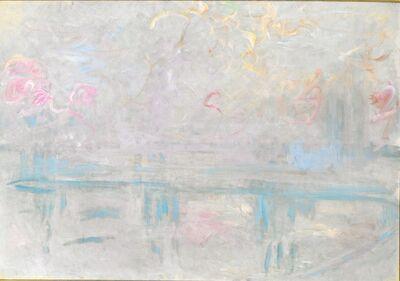 Claude Monet, 'Charing Crossing Bridge', ca. 1900