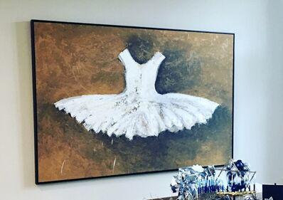 Ewa Bathelier, 'Big White Dress', 2017