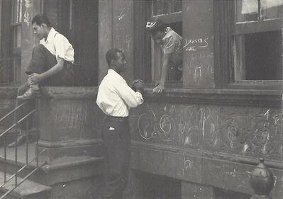 Helen Levitt, 'NYC (Boy in Window)', ca. 1940