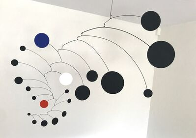 Manuel Marin, 'Planetary system (black-white-blue-red)', 1995