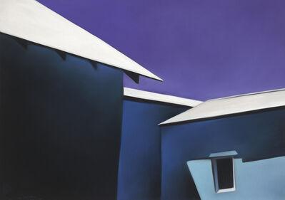 Margaret nes, 'Ojo Blue Walls White Roofs 19-01', 2019