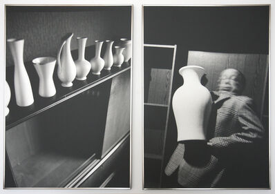 Anna & Bernhard Blume, 'Vasen-Extase (2-part photo sequence)', 1987