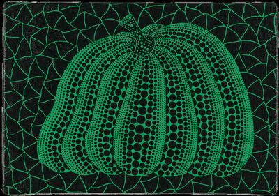 Yayoi Kusama, 'Green Pumpkin', 2000