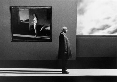 Gilbert Garcin, 'Un autre jour (d'après Edward Hopper) - Another day after Edward Hopper', 2006