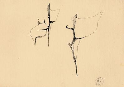"""Alina Szapocznikow, 'Croquis pour le """"Diable""""', 1960"""