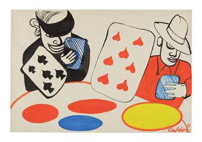 Alexander Calder, 'Pique et Coeur', 1971